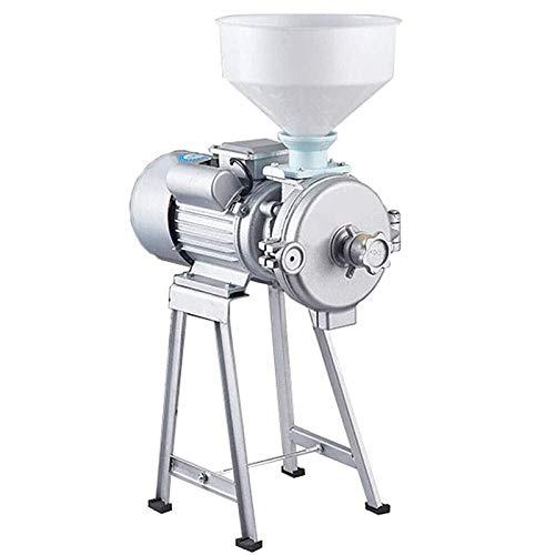 YXMxxm Elektrische Mühlenmühle,2200W Trockenkornmühle,Hochleistungs Getreidemühle Pulvermaschine Mit Trichter Für Bohnen,Mais,Reis,Weizen