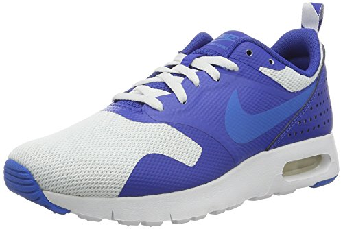 Nike Unisex-Kinder Air Max Tavas (GS) Shoe Low-Top, Weiß (102 White/Photo Blue-Game ROYAL-Black), 38.5 EU
