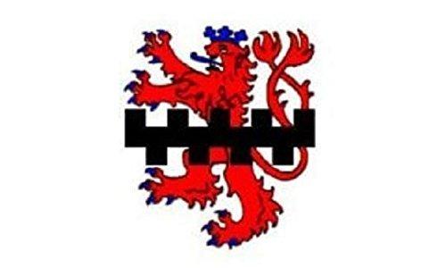 U24 Fahne Flagge Leverkusen Bootsflagge Premiumqualität 40 x 60 cm