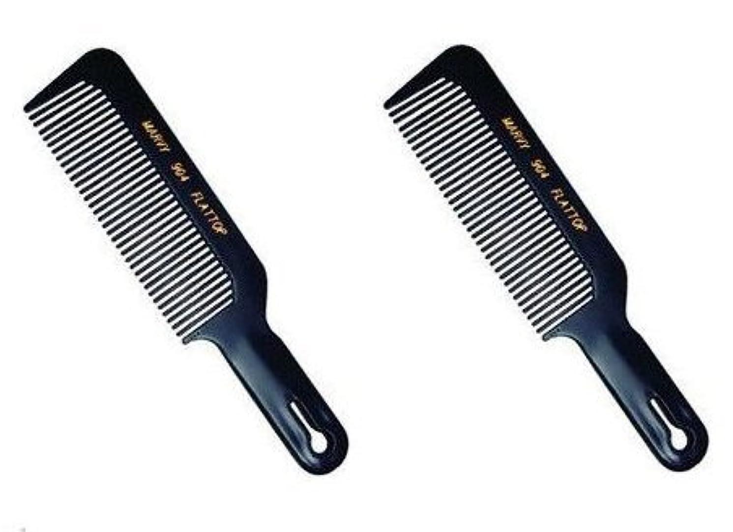 レプリカ栄光の改革Marvy Flat Top Comb #904 (2-pack) [並行輸入品]