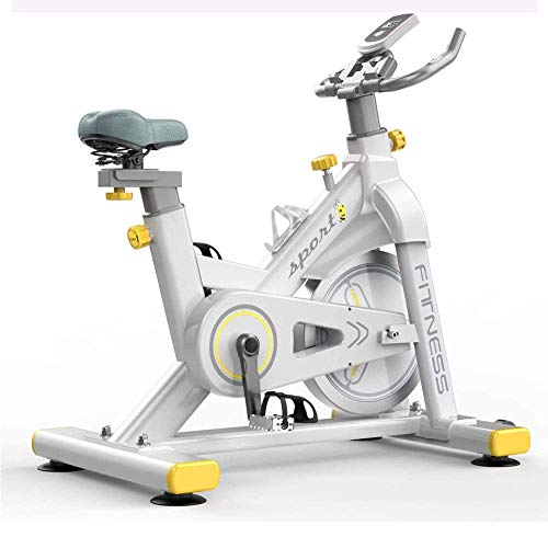 AUTOKS Exercise Bike,Indoor Cycling Stationary Bike, Handlebar and Comfortable Seat Spin Exercise Bike with LCD Monitor for Home Gym