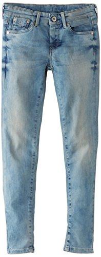 Pepe Jeans London Unisex-Kinder Pixlette Jeans, Denim, 8 Jahre (128 cm)