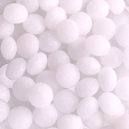Supply Guru MothGuard 3 Pack of 5 oz Old Fashioned Original Moth Balls Repellent Closet Clothes Protector, No Clinging Odor, Kills Clothes Moths, Eggs, Larvae, and Carpet Beetles (3-Pack of 5 oz)