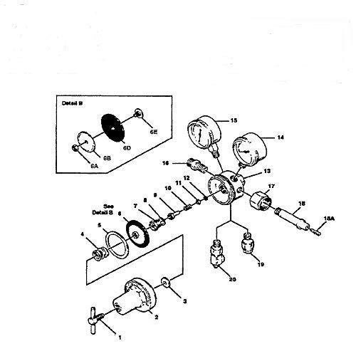 GSParts NEW Victor 250-80-540 Oxygen Regulator Rebuild/Repair Parts Kit