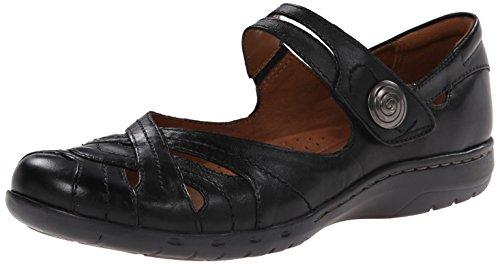 Rockport Cobb Hill Women's Parker CH Dress Sandal,Black,6 M US