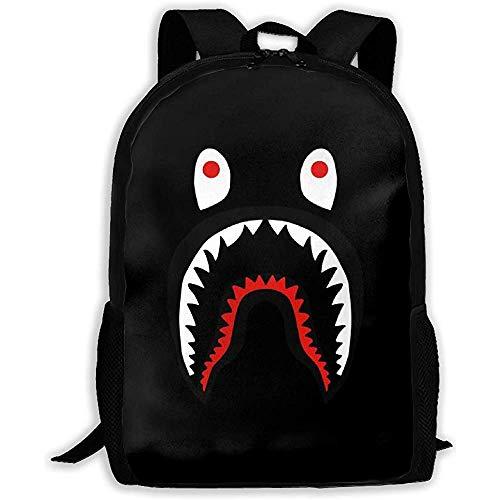 Bape Shark Unisex Rucksack Schultertasche Schulrucksack Reisetaschen Laptop Rucksack