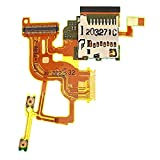 Liaoxig Sony Spare Power Button and Volume Button Flex Cable with Card Slot Replacement for Sony Xperia ion LTE / LT28at / LT28i Sony Spare
