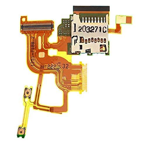 YUEZHIMY Intercambiabile per Parti danneggiate Pulsante di accensione e Tasto Volume Cavo Flessibile con Sostituzione di Slot per Scheda per Sony Xperia Ion LTE / LT28AT / LT28I Accessorio