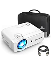 VANKYO Leisure 430 Mini Beamer, Super Heimkino Beamer, support 1080P Full HD mit 60000 Stunden LED, kompatibel mit TV Stick, HDMI, SD, AV, VGA, USB, PS4, X-Box, iOS/Android Smartphone Projektor