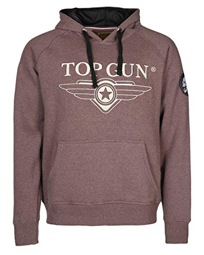Top Gun Simulator Light Brown Kapuzenpullover Hoddy (L)