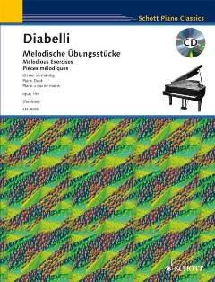 MELODISCHE UEBUNGSSTUECKE OP 149 - arrangiert für Klavier 4händig [Noten / Sheetmusic] Komponist: DIABELLI ANTON