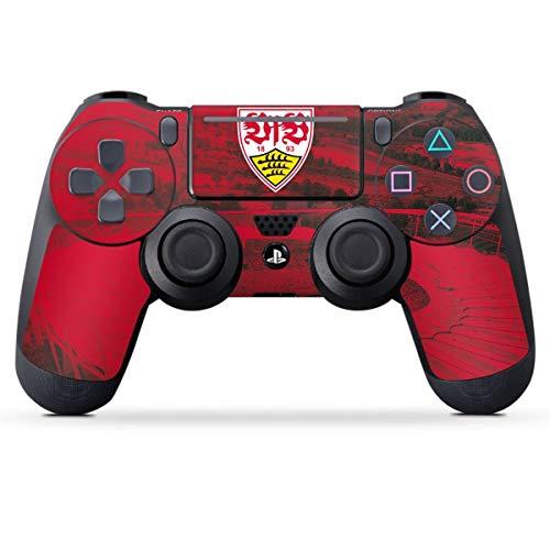 DeinDesign Skin kompatibel mit Sony Playstation 4 PS4 Pro Controller Folie Sticker VfB Stuttgart Stadion Offizielles Lizenzprodukt