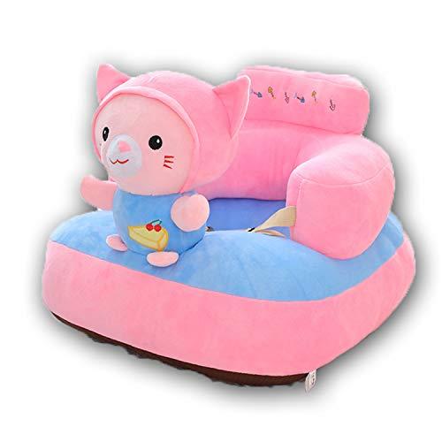 BHAHFL Copridivano per Bambini Senza Imbottitura Interna Seduta per Bambini a Forma di Elefante del Fumetto Poltrona per Bambini Morbida Divano per Bambini,B