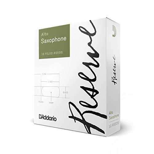 Rico DJR1030 Cañas para Saxo Alto Reserve, Dureza 3.0, 10-Pack