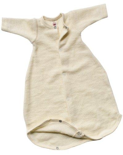 Engel Naturtextilien Frühchen Kleidung - Bio / Öko Baby Schlafsack Schurwoll Frottee Gr. 50 cm