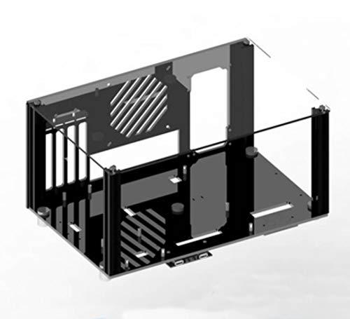 【BWH】PCオープンフレーム 透明 モッドベーススタンド PCケース DIY ケースブラケット M-ATX (タイプⅡ)