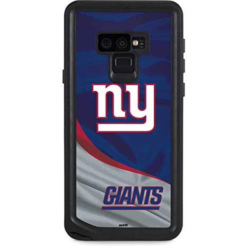 Skinit Waterproof Phone Case Compatible with Galaxy Note 9 - Officially Licensed NFL New York Giants Design