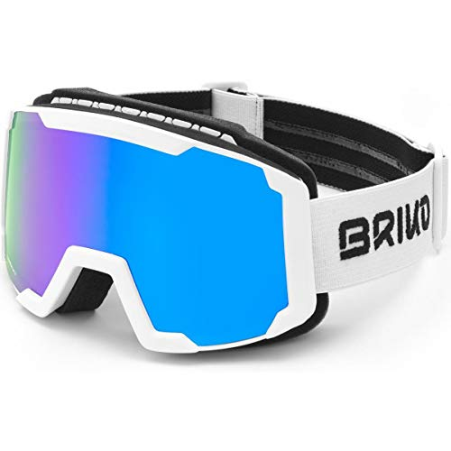 Briko Skibrille Lava Fis White, weiß