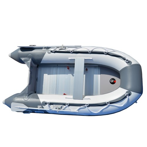 Best Review Of BRIS 8.2 ft Inflatable Boat Inflatable Pontoon Dinghy Raft Tender Boat