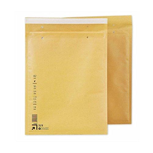 Caja 100 Sobres Acolchados H8. Medidas exteriores 290 x 370 mm. Solapa de cierre auto-adhesiva