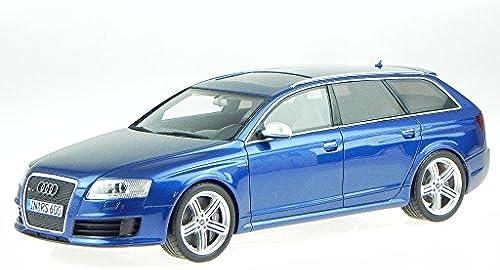 Audi A6 C6 RS6 Avant blau Modellauto Resine OT122 Otto 1 18