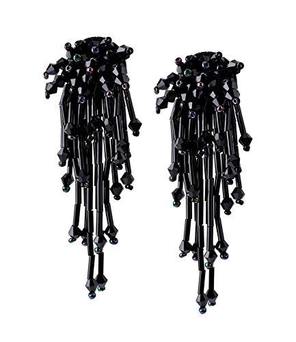 SIX - Ohrringe in Schwarz, Größe OneSize