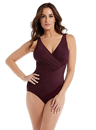 Miraclesuit Must Haves Oceanus One-Piece DD-Cups, 10DD, Shiraz