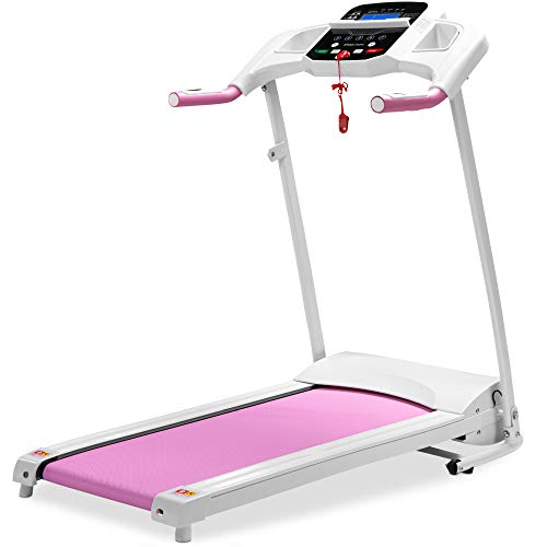 Best Choice Products 800W Folding Electric Treadmill,...