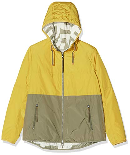 camel active Womenswear Damen Jacke, Gelb (Yellow 65), (Herstellergröße:42)
