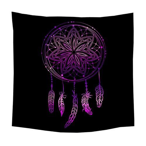 Mandala Achtergrond Dromenvanger Patroon Boheemse Muur Opknoping Wandtapijten Yoga Mat Wandtapijten Bank Stoelhoes Slaapkamer Huis Decoratief, 9,75 Cm x 85 Cm