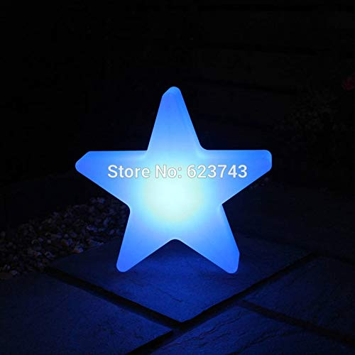 Paysage extérieur étanche lumière de Charge colorée étoiles Illuminant l'éclairage des lumières de Noël