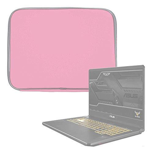 DURAGADGET Funda De Neopreno Rosa Compatible con Portátil ASUS TUF Gaming FX705GM-EV020 - Resistente Al Agua