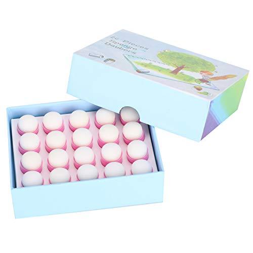 Daubers de esponja para dedos, esponja para pintar con los dedos Diseño de forma especial fácil de usar para usar tiza de tinta, pintura, etc.