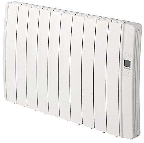 Gabarón DIL10GC Elektrische zender met wifi, digitaal, programmeerbaar, 1250 W, wit