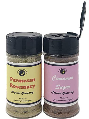 Lowest Prices! Premium | Popcorn Seasoning | Variety 2 Pack | Cinnamon Sugar Popcorn Seasoning | Par...