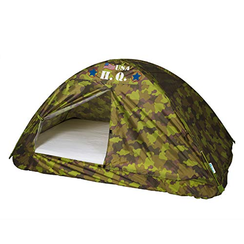 Pacific Play Tents 19780CAMOUFLAGE H.Q. Bed Tent