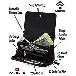 Fashion Shopping Mundi RFID Crossbody Bag For Women Anti Theft Travel Purse Handbag Wallet Purse Vegan