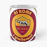 I Italy A Serie Italia Totti Soccer Roma Football Giallorossi AsMigliore Tazza da caffè Regalo 11 oz