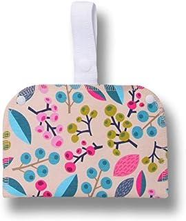 Borsetta impermeabile a doppia tasca; metti gli assorbenti asciutti da un lato, quelli usati dall'altro; perfetta per salv...