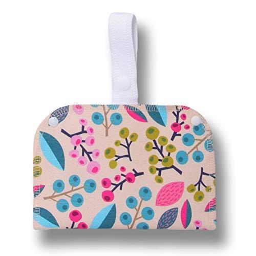 Bolsa Impermeable Doble de Algodón, perfecta para tus productos ecológicos y lavables: salvaslips, compresas, almohadillas de maquillaje y de lactancia; todo bien guardado y listo para ser reutilizado