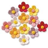 Günthart 120 Blumen aus Feinzucker, bunt
