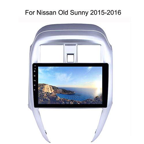 Nav Para Nissan Old Sunny 2015-2016 GPS Navi Navigation Con Pantalla Táctil De 10.1 Pulgadas Dispositivo De Navegación Para Automóvil Estéreo Android WiFi / BT Tethering-Internet Soporte Para 64G SD