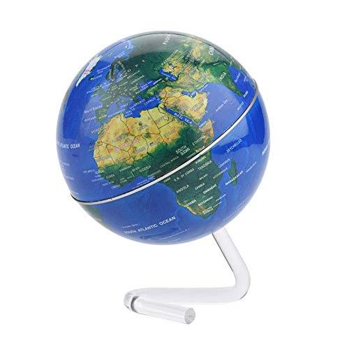 Globus Rotierend mit Ständer Pädagogisch für Kinder Haus Büro Schule Lernen Geographie Werkzeug(Blau)