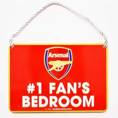 Arsenal FC No.1 Ventilator Metalen bord