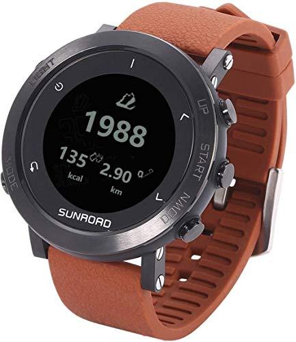 AMBM Exquisito hombres s deportes al aire libre reloj Bluetooth reloj inteligente 50 m impermeable calorías contador calcetines mesa goma regalo