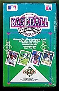 1990 Upper Deck Baseball Cards Unopened Box (36 packs per box)