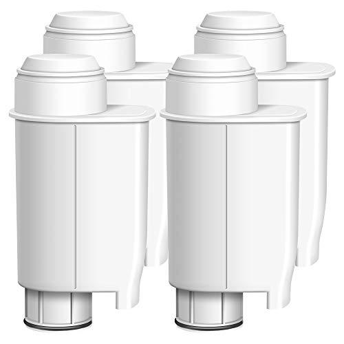 4er TÜV SÜD Zertifizierte Wasserfilter von Waterdrop, Kompatibel mit Brita Intenza+, Saeco CA6702/00, NICHT für AquaClean