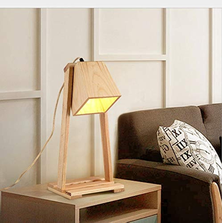Nachttischlampe Aus Holz Schreibtischlampe Aus Holz Klapptischlampe Nordic Tischlampe Schlafzimmer Nachttischlampe, D