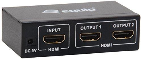 Equip Splitter HDMI 1080p 3D - 332712
