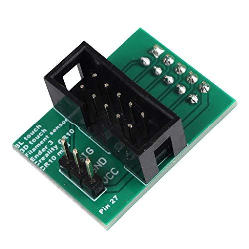 Creality Ender3 Ender3 pro Ender 5 CR-10 CR 10 MINI 3 Pin 27 Placa adaptadora para BL Touch o Sensor de filamento BL Touch Accesorios para impresoras 3D